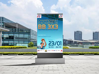 FF Sport - Bourgogne-Franche-Comté france composition vector design typography graphic design