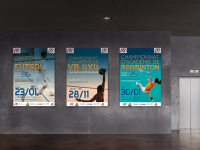 FF Sport - Bourgogne-Franche-Comté france typography design graphic design