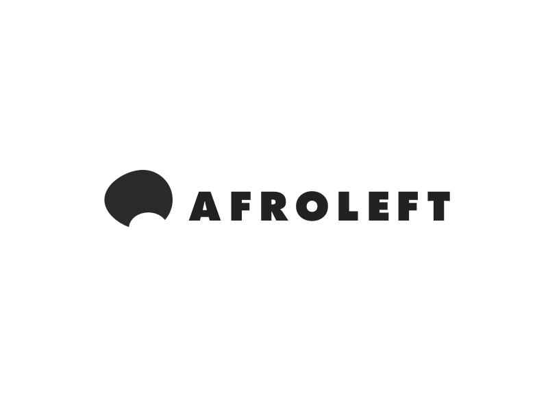 Leftfield monochrome afro logo leftfield futura