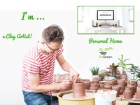 Personal Home - BeGreen, Planter WordPress Theme