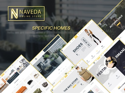 Naveda - Specific Home shoes shop clothing online shop watch online store multiconcept theme