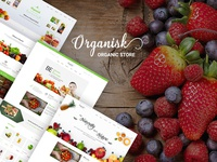 Organisk - Multi-Purpose Organic PSD Template