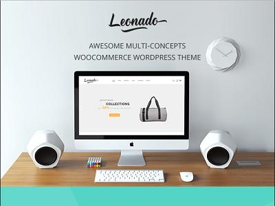 Leonado - Multi-Concepts WooCommerce WordPress Theme web designs woocommerce wordpress thêm online store fashion shop