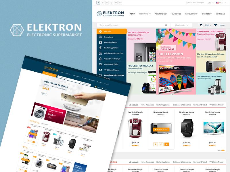 Elektron - Electronics Store WooCommerce Theme electronics store