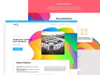 Teddy agency - web design
