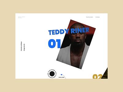 Jérémy Lesdema Portfolio #1 portfolio desktop design art direction website