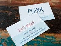 Plank Business Card