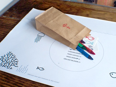 Plank Kids Menu + Pack