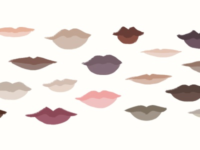 Voices lips blog diversity illustration