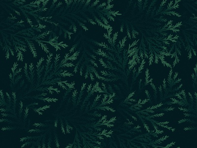 Fern Pattern pattern plants ferns greenery