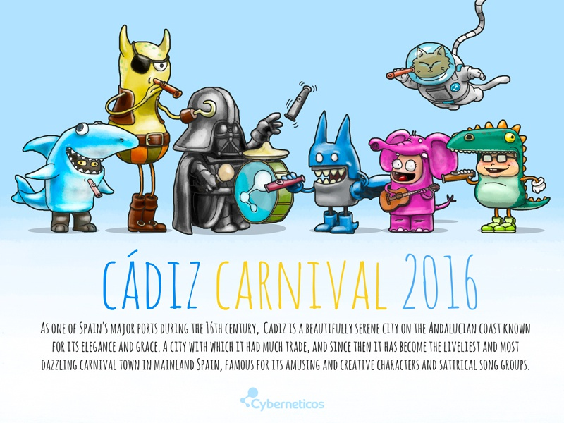 Cádiz Carnival 2016 by DanielRGB on Dribbble