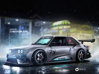 BMW M3 (1985) Cyberpunk 2045