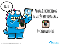 Now Cyberneticos in Instagram
