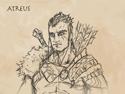 Atreus God of War characterdesign conceptart atreus godofwar ps4