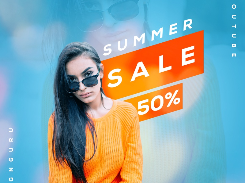 Summer Sale identity icons character illustrator flat lettering icon branding app vector typography mobile minimal logo sale 50 sales illustration design clean