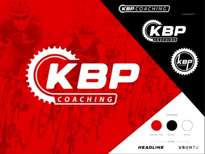 KBP Coaching athlete chainring badge brand logo coach race bike cycling wenatchee