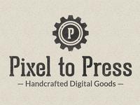 Pixel to Press Logo
