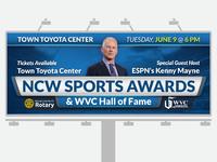 NCW Sports Awards Billboard