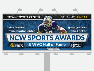 NCW Sports Awards Billboard 2016