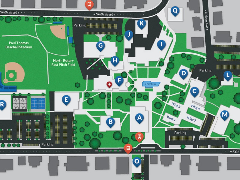 university of phoenix campus map Campus Map By Nick Winters On Dribbble university of phoenix campus map