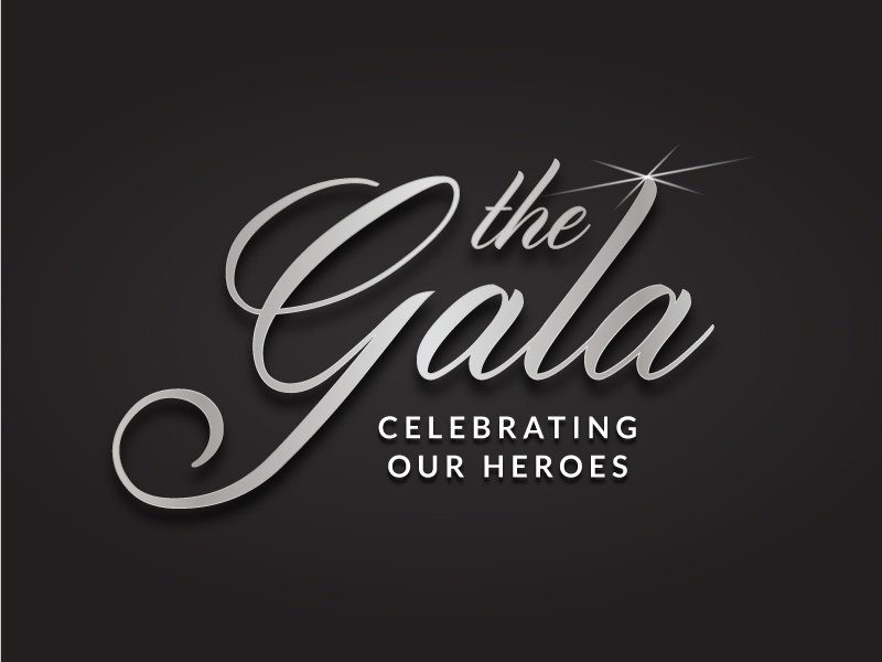 Wenatchee Valley College Foundation's The Gala - Logo simple type text logo