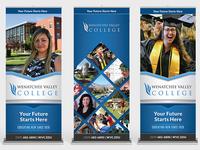 Wenatchee Valley College Banner-Up Templates