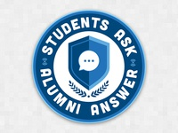 Students Ask Alumni Answer Open Forum Logo