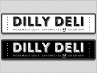 Dilly Deli Backlit Signs