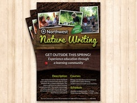 Northwest Nature Writing Poster