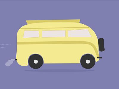 Yellow Van pen tool adobe illustrator