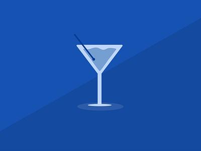Cocktail adobe illustrator