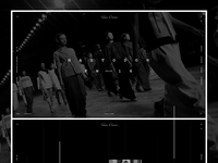 Rick Owens redesign concept. Home page