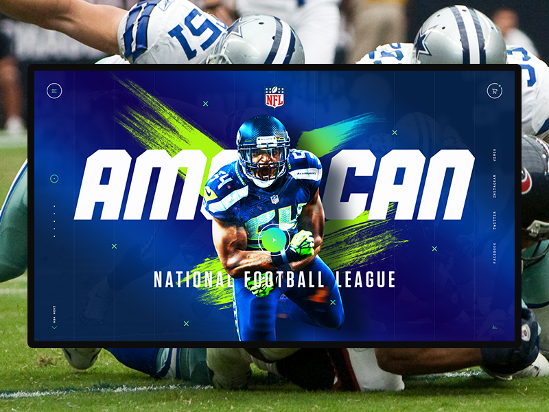 American sports concept. NFL concept america sport football nfl