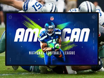 American sports concept. NFL concept america sport football nfl