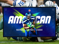 American sports concept. NFL