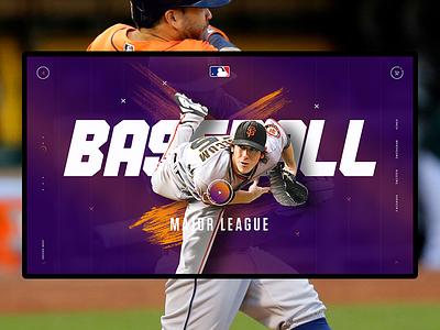 American sports concept. MLB mlb baseball sport america concept