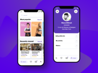 Services booking app