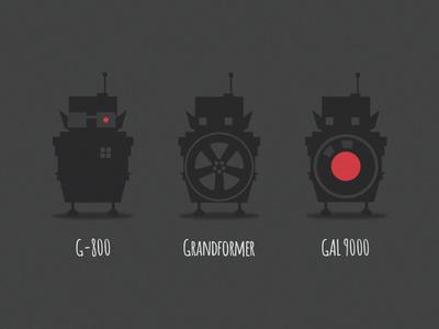 Geek-Mas Klicker Robots