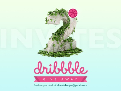 Dribbble Invitation To Give Away