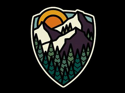 Mountain Pass mountains photoshop graphic design nature adobe design art