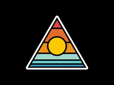 Summer flat design design art