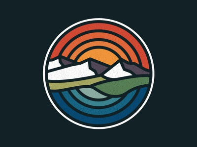 Landscape photoshop vintage design art