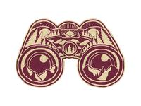 Binoculars Faux patch