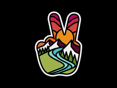 Peace photoshop vintage design art