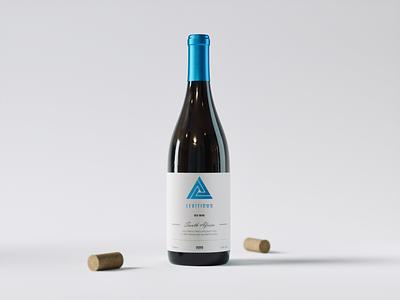 Wine   3D Rendering octane cinema 4d cork bottle wine design product rendering 3d