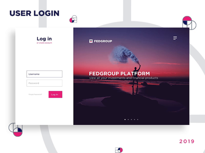 User Login & Sign up minimal webdesign web interaction design sign up sign in uidesign uxdesign ux animation animated design ui