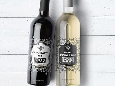 Wine bottle label help
