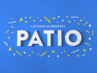 Patio Party