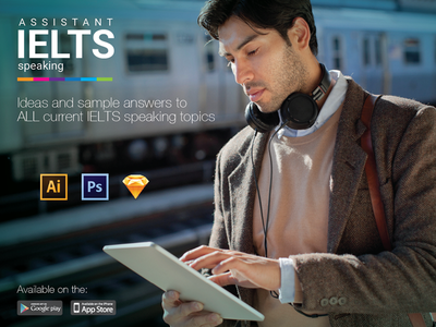 IELTS Speaking Assistant APP answers topics ideas design ielts app ui