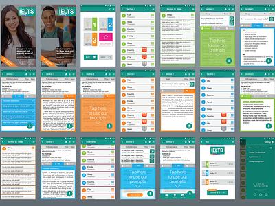 IELTS UI-kit in Sketch 3 sketch kit ui ielts app design